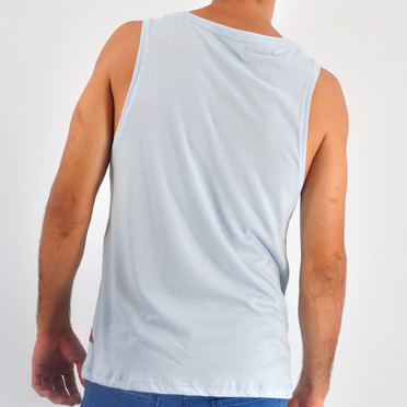 MUSCULOSA PARADISE LIGHT BLUE