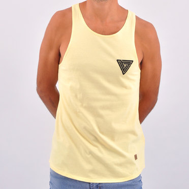 MUSCULOSA TRIANGLE HARD YELLOW