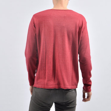 SWEATER LEEDS RED
