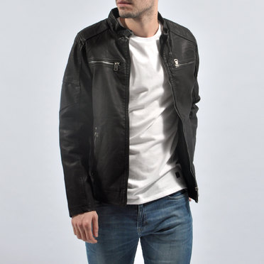 CAMPERA LYON FOUR ZIP BLACK