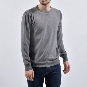 SWEATER LIVERPOOL GRIS CEMENTO