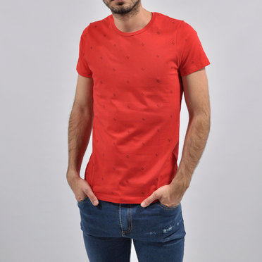 REMERA ARROW RED
