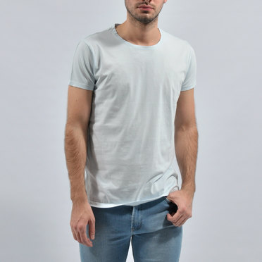 REMERA BASIC LIGHT BLUE