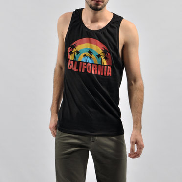MUSCULOSA CALIFORNIA BLACK