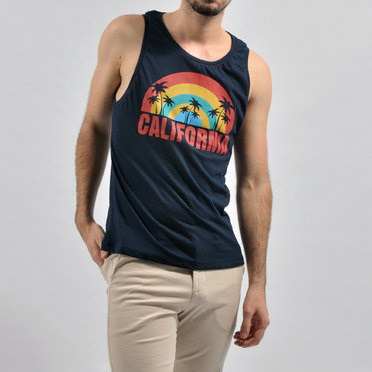 MUSCULOSA CALIFORNIA BLUE