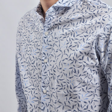 CAMISA CERVERIS LIGHT BLUE