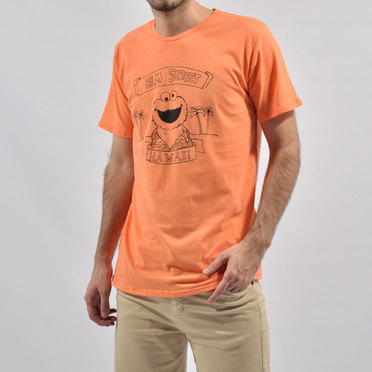 REMERA ELMO ORANGE