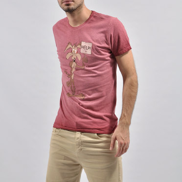 REMERA COYOTE RED