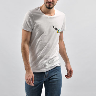 REMERA KRUSTY WHITE