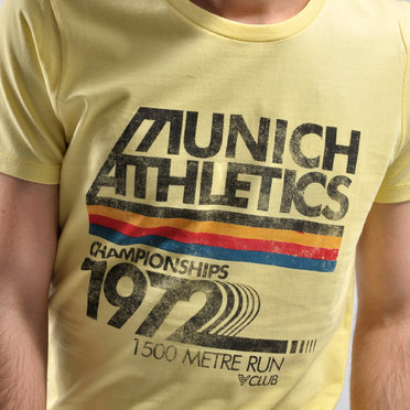 REMERA MUNICH ATHETICS YELLOW