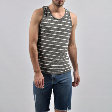MUSCULOSA AREA STRIPE GREY