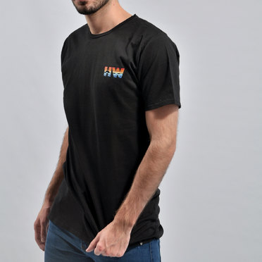 REMERA HW SUNSET BLACK