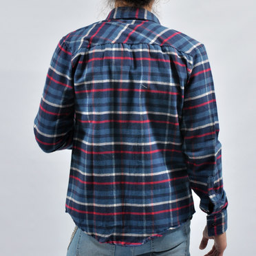 CAMISA OBAN FULL BLUE RED WHIT