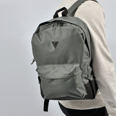 MOCHILA CLASSIC LEATHER GREY