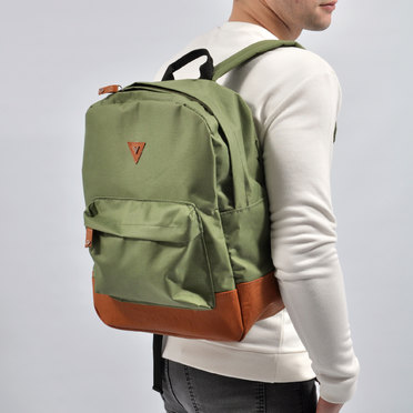 MOCHILA CLASSIC LEATHER GREEN