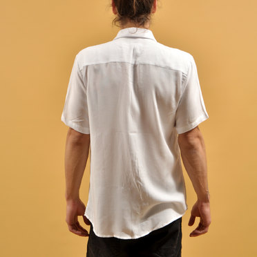 CAMISA M/C GENOVA WHITE BUTTON