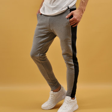 JOGGER RONDA COTTON LINE GREY