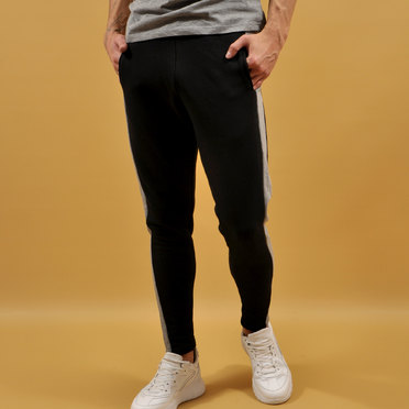 JOGGER RONDA COTTON LINE BLACK