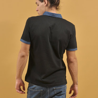 CHOMBA DENIM BLACK