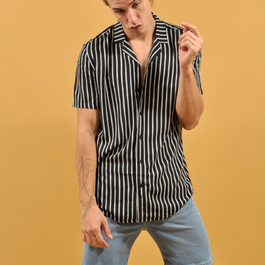 CAMISA M/C BARCELON LINE BLACK