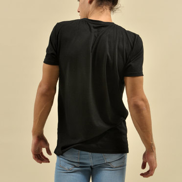 REMERA LOCAL PRINTER BLACK